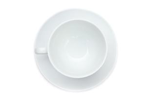 Empty coffee cupの写真素材 [FYI00486948]
