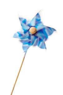 Pinwheel in motionの写真素材 [FYI00486953]