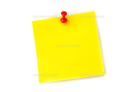 Pinned adhesive noteの素材 [FYI00486962]