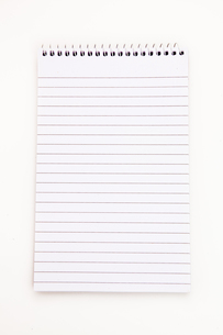 Empty notepad  sheetの写真素材 [FYI00486973]