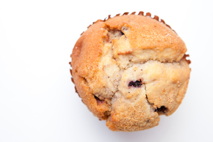 Close up of a muffinの写真素材 [FYI00486985]