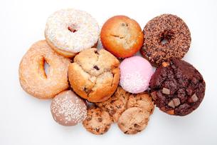 Choice of pastryの写真素材 [FYI00486998]
