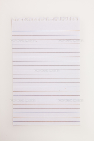 Blank page of notebookの素材 [FYI00487016]