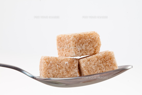 Spoon with brown sugarの素材 [FYI00487039]