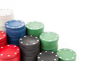 Coins of pokerの写真素材 [FYI00487057]