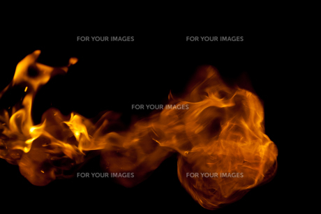Fire flameの写真素材 [FYI00487087]