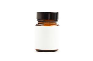 Bottle of capsulesの写真素材 [FYI00487094]
