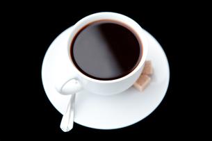 Mug of black coffeeの写真素材 [FYI00487101]