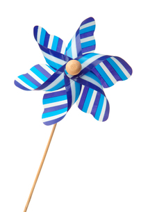Blue pinwheelの写真素材 [FYI00487102]