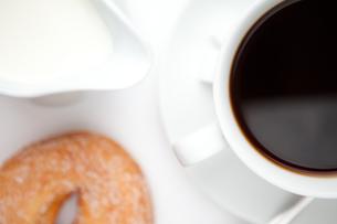 Espresso with doughnutの写真素材 [FYI00487161]