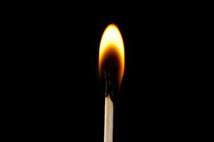 Match on fireの写真素材 [FYI00487164]