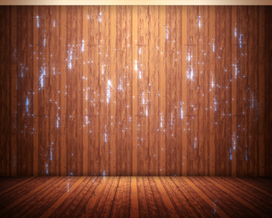 Background of flooring with sparksの写真素材 [FYI00487188]