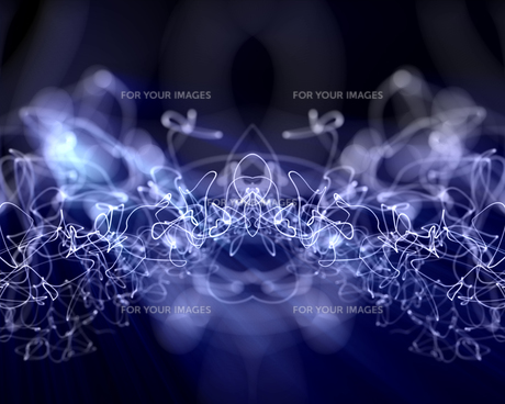 Multiples lightning linesの写真素材 [FYI00487195]