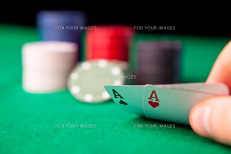 Rockets in pokerの写真素材 [FYI00487274]