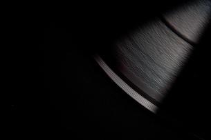 Black compact discの写真素材 [FYI00487276]