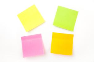 Many adhesive notesの素材 [FYI00487281]