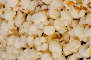 Horizontal close up on popcornの写真素材 [FYI00487303]