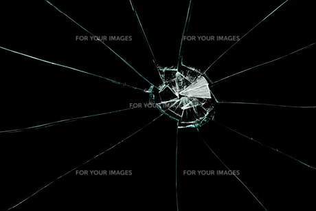 Broken squared windowの素材 [FYI00487324]