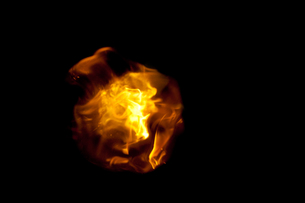 Ball of fireの写真素材 [FYI00487328]