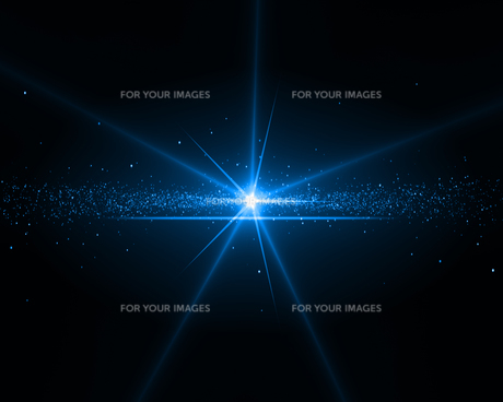 Background with a blue starの写真素材 [FYI00487359]