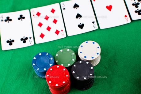 Poker partyの写真素材 [FYI00487362]