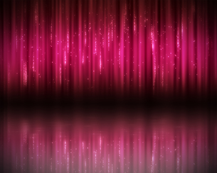 Background of magenta linesの写真素材 [FYI00487376]