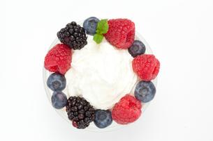 Circle of berriesの写真素材 [FYI00487379]