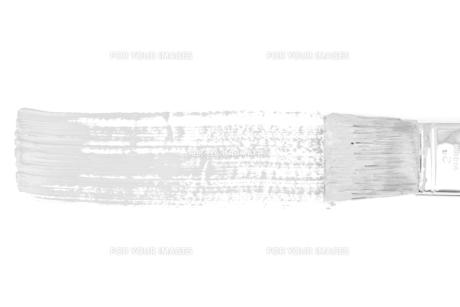 Grey horizontal line of paintingの写真素材 [FYI00487415]