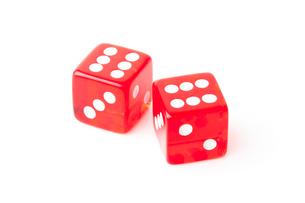 Two dicesの素材 [FYI00487437]