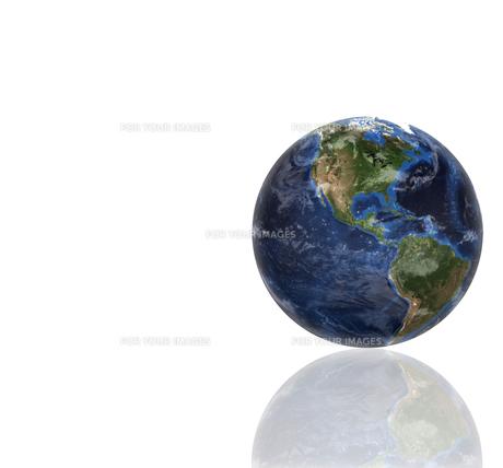 3d planet globeの写真素材 [FYI00487461]