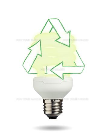 Isolated light bulbの写真素材 [FYI00487471]