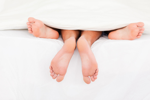 A couples feetの写真素材 [FYI00487596]
