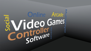 Creative image of video games conceptの素材 [FYI00487597]