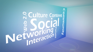 Creative image of social networking conceptの素材 [FYI00487613]