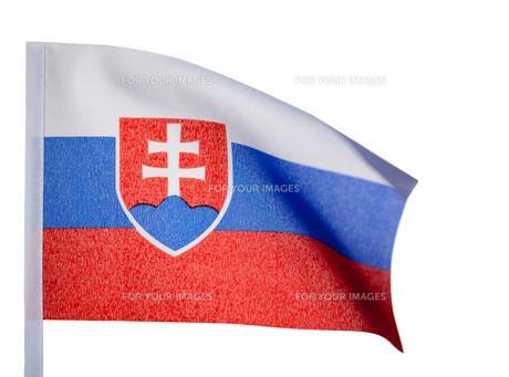 Slovakian flagの素材 [FYI00487619]
