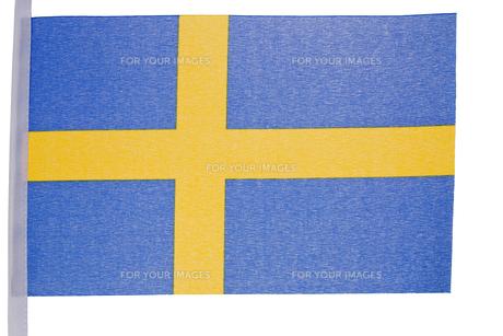 Swedish flagの素材 [FYI00487629]