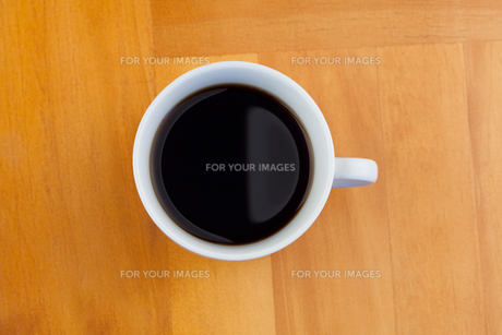 A cup of coffee isolatedの素材 [FYI00487652]
