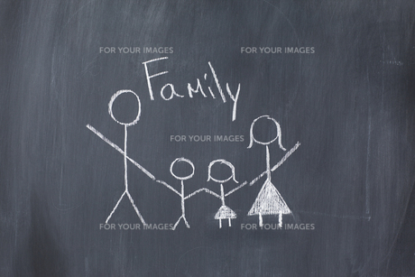 Drawing of a familyの素材 [FYI00487667]
