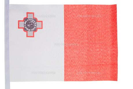Maltese flagの写真素材 [FYI00487668]