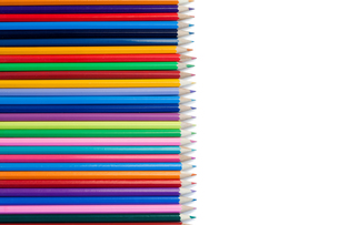 Color pencils horzontal alignmentの素材 [FYI00487682]