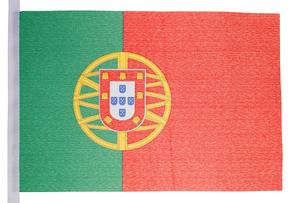 Portuguese flagの素材 [FYI00487704]