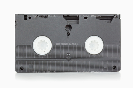 Back side of a video tapeの素材 [FYI00487714]