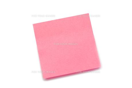Pink postitの写真素材 [FYI00487721]
