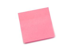 Pink postitの素材 [FYI00487721]