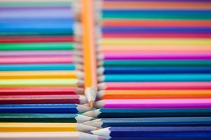 Color pencils linesの素材 [FYI00487733]
