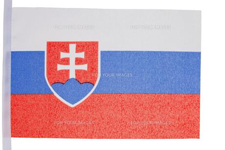 Slovakian flagの素材 [FYI00487742]