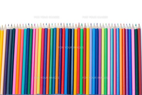 Color pencils vertical alignmentの素材 [FYI00487754]