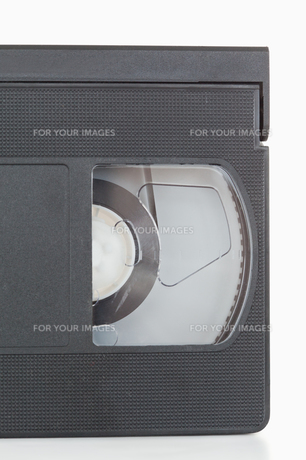 Close up of a video tapeの素材 [FYI00487763]