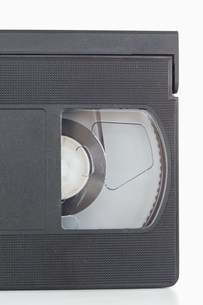 Close up of a video tapeの写真素材 [FYI00487763]