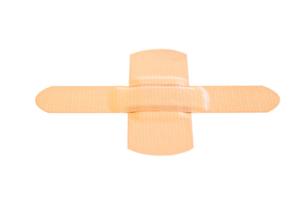 Stuck bandaidの写真素材 [FYI00487788]
